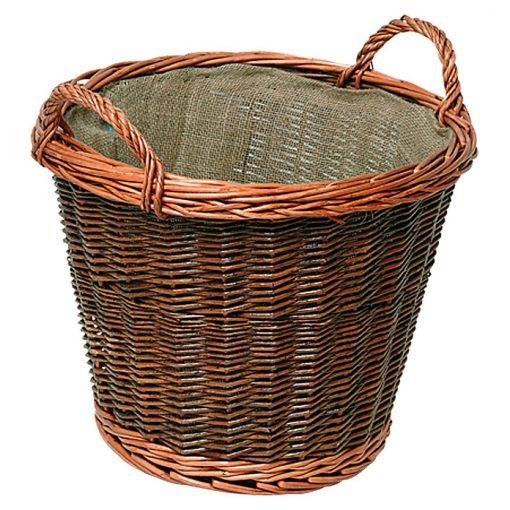 Pletena lesena košara 21.02.609.2