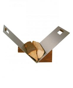 Srebrna košara za drva